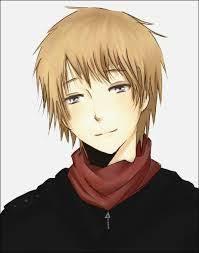 Image result for anime blonde hair boy