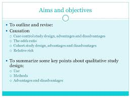 Advantages and Disadvantages of Case Studies   psud   New