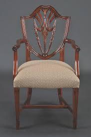 hepplewhite shield dining chairs set: mahogany dining chairs shield back chairs model