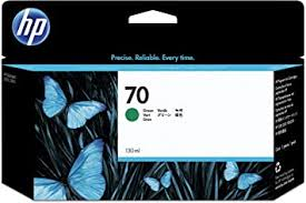 <b>HP</b> Original No.<b>70 Green</b> Ink Cart 130ml: Amazon.co.uk: Office ...