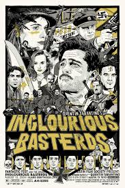 inglourious basterds goldposter inglourious basterds poster 105