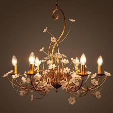 <b>Led E14 Nordic Iron</b> Acrylic Flower LED Lamp LED Light.Pendant ...