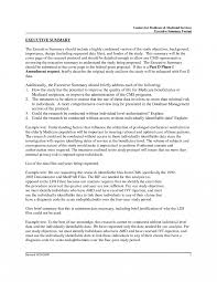 resume executive summary of manager is the brief to apa format it