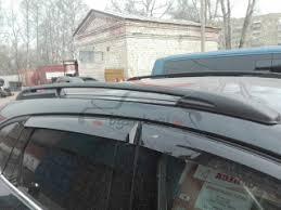 <b>Рейлинги</b> на крышу Mazda CX-5 2017-н.в. <b>APS чёрные</b> - продажа ...