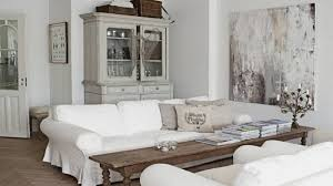 White Chairs For Living Room Stunning Shabby Chic Living Room With White Look Living Room