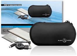 BH PSP E1000/2000/3000 <b>Набор</b> 5 в 1 (<b>чехол</b>,USB,<b>пленка</b>,карта ...