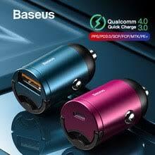 <b>Baseus</b> Quick Charge 4,0 3,0 USB C <b>автомобильное зарядное</b> ...