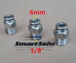 """<b>Free shipping 10pcs/lot 6MM</b> Tube Size 1/8"""" Thread stainless steel ..."""