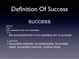what is successdefinition