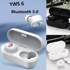 Bluetooth 5.0 Headset Mini TWS 6 Twins Wireless In-Ear ... - Vova