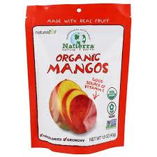 Nature's All Foods - <b>Organic Freeze-Dried Mango</b> - <b>1.5</b> oz - Buy ...