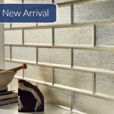 subway tiles tile site largest selection: beveled glass silver glisten quot x quot subway tile on sale