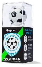 Купить беспроводной робо-шар <b>Sphero Mini Soccer</b> (Black/White ...