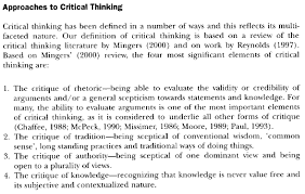 what is critical thinking essay critical thinking essays definitions education in the critical faculty is the only education of which it