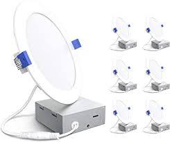 6 inch Ultra-Thin Led Recessed Lights 5000K ... - Amazon.com
