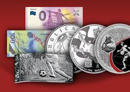 <b>Commemorative</b> Coins & Banknotes FIFA World Cup FOOTBALL ...