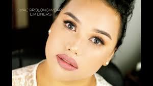 <b>MAC Prolongwear Lip</b> Liners: {8 lip swatches} - YouTube
