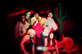marlon wayans visited macabre cinema check haunted house