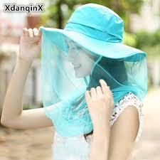 <b>XdanqinX 2019</b> Summer <b>New Style</b> Lady Folding Sun Hats Fashion ...