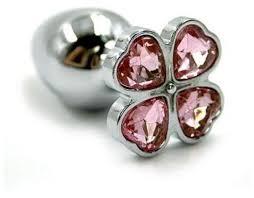 Kanikule <b>Анальная пробка алюминиевая</b> с цветком ... — купить по ...