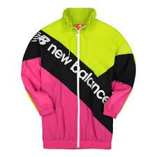 New Balance <b>Sport Style Optiks Jacket</b> ( WJ93505SYE / 741670-50 ...