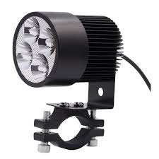 Motorcycle <b>LED Headlight</b> Spotlight 20W Electric Vehicle Super ...