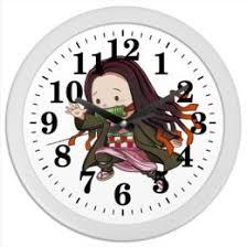 """Часы для офиса c прикольными принтами """"Аниме/хентай"""" - <b>Printio</b>"""