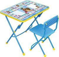 <b>Комплект</b> АЗБУКА 2 Маша и медведь стол <b>парта стул</b> мягкий КУ1 ...