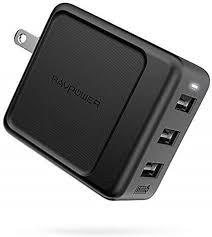 USB Wall Charger 3-Port 30W RAVPower Travel ... - Amazon.com