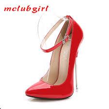 MCLUBGIRL 2020 16 Cm Heels <b>Women</b> Sexy <b>Pumps Shoes Super</b> ...