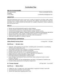 sample icu rn resume cipanewsletter rn resume objective evaluation request letter sample graduate icu