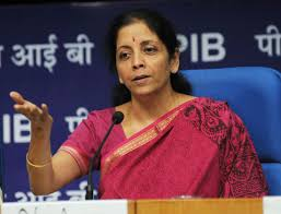 Image result for Commerce and Industry Minister Nirmala Sitharaman