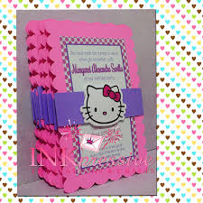 kitty party invitation card matter format of 1st birthday pink purple hello kitty invitation inkpressive invitations