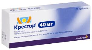 Купить <b>Крестор</b> таблетки 40 <b>мг 28</b> шт.; по выгодной цене на ...
