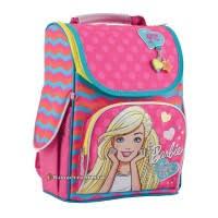 """Рюкзак школьный для девочки (12л) ТМ 1-ВЕРЕСНЯ """"<b>Barbie rose</b>"""""""