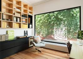 office landscape design ideas home office contemporary with custom shelving natural light natural lighting home office
