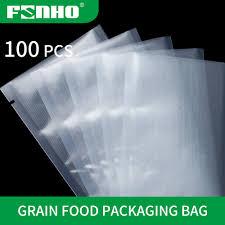 FUNHO <b>100PCS</b>/<b>lot</b> Food <b>Vacuum Sealer</b> package Bags <b>Food</b> ...