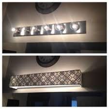 wood boxes wall fixtures and bathroom vanities on pinterest bathroom vanity lighting remodel custom