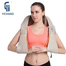 <b>Electric Shiatsu Back</b> Neck Shoulder Leg <b>Massager</b> Toning Belt ...