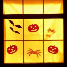 love halloween window decor: picture  orig picture