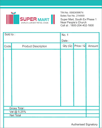 bill book of super mart by anibabbar on bill book of super mart by anibabbar
