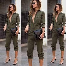 Women Casual <b>Cotton Linen Vintage</b> Sling Jumpsuit Overalls ...