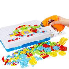 Kids <b>Drill Toys</b> Creative <b>Educational Toy</b> Electric <b>Drill</b> Screws <b>Puzzle</b> ...