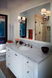 vanity lighting ideas bathroom traditional with marble counter mirror sconces bathroom lighting ideas bathroom traditional