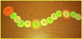 Image result for caterpillar number line