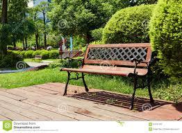 deck wooden patio outdoor stock photo