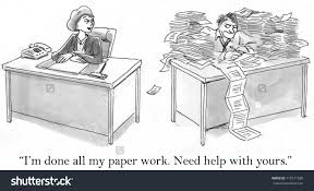I     M Done My Paper Work  Need Help With Yours  quot  Stock Photo     Shutterstock