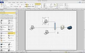 microsoft visio   basic network diagram   youtubemicrosoft visio   basic network diagram