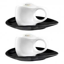 Luigi Colani Porzellan,'Ab ovo Black & White' <b>Набор чашек для</b> ...
