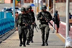 Resultado de imagem para Governo prorroga permanência de tropas federais em Natal